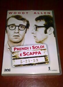 DVD PRENDI I SOLDI E SCAPPA / WOODY ALLEN / DALL' ANGELO / NUOVO