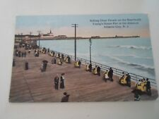 ATLANTIC CITY, New Jersey, Rolling Chair Parade On The Boardwalk  §B205