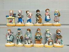 Série complète de fèves NOUVEAUX COMMERÇANTS SOCLE JAUNE 1994 Métiers *74.77.102