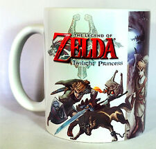 THE LEGEND OF ZELDA Twilight Princess - Coffee MUG - Cup - HD - Ocarina - GIFT