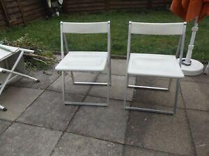 2 x Interlübke Design Klappstuhl  70er Jahre Folding Chair 70s.