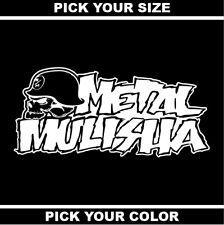 Metal Mulisha Clothing Vinyl Sticker/Decal *Supercross*Motocross*MMA*Shirt*FMX