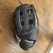 "Adidas Pro Series EQT Baseball Glove 12.75""  Black Gray LHT AZ9151 $220"