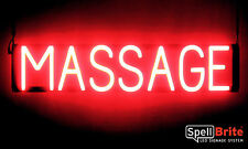 SpellBrite Ultra-Bright MASSAGE Sign Neon-LED Sign (Neon look, LED performance)