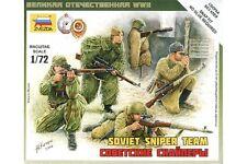 ZVEZDA 6193 1/72 Soviet Sniper Team