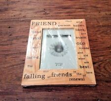 FRIEND WOODEN TABLE FRAME 4x6 Special Moments Memories Collection Open Box
