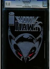 SHADOWHAWK #1 CGC 9.8 WHITE PAGES BLACK COVERS EXTREMELY HARD ORIGINAL 1ST PRINT