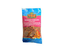 TRS Whole Chillies extra hot 50g - Chili Schoten extra scharf - PORTOFREI