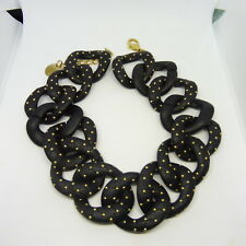VINTAGE WHIMSICAL ITALIAN PONO STUDDED RUNWAY NECKLACE