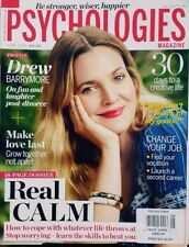 Psychologies Magazine UK June 2017 Drew Barrymore Real Calm FREE SHIPPING CB