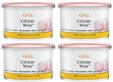 4 Cans of GiGi Creme Wax 14 oz #0260