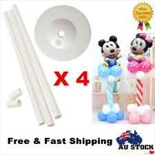 4x 1.5M Balloon Column Base Stand Display Kit Wedding Event Party Decoration