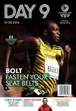Giochi del Commonwealth 2014 giorno nove 9 programma