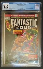 Fantastic Four #144 (Marvel, 3/74) CGC 9.6 NM+ (Doctor Doom appearance)