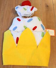 New Pottery Barn Kids BANANA SPLIT Costume Baby Infant Size 12-24 Months