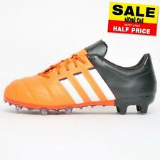 Adidas Ace 15.2 FG / AG Mens Premium Pro Leather Football Soccer Boots Orange