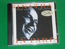 LIVE IN PARIS - FRANK SINATRA CD