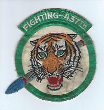 50s(F-94 era) 5 1/2 INCH 437th  FIGHTER INTERCEPTOR SQUADRON  patch