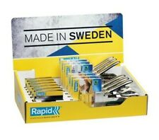 Rapid Manual Tackers Counter Display Heavy Duty Staples - TSCAR34R14CD