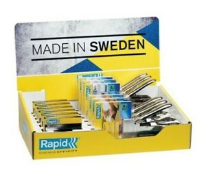Rapid Manual Tackers Counter Display Heavy Duty Staples - TSCAR34R14CD