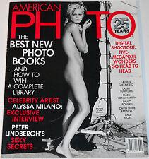 American Photo Magazine January/February 2003 Celebrating 25 Years Eva Herzigova