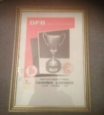 FRAMED CANVAS PRINT - 1967 ECWC FINAL - GLASGOW RANGERS V BAYERN MUNICH