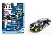 1965 Ford GT 40 Racing #72 Blue DIRTY Version *RR* Auto World MiJo 1:64 RAR