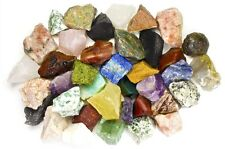 4 Pounds Assorted INDIA Stone Mix - Tumbling Rock, Cabbing, Reiki, Rock Tumbler