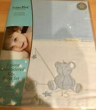 New Bubba Blue baby cot sheet set Starry Night baby sleep warm soft