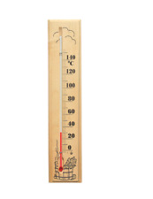 Thermometer Sauna Bath Wooden