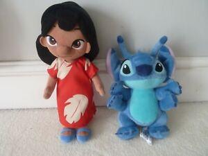 Disney Store Lilo Animators Plush Soft Toy Doll Lilo and Stitch PLUSH