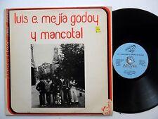 Luis E. MEJIA GODOY & MANCOTAL In Holland LP Nicaraguan Folk Music 1980