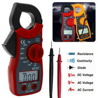 200A Digital Clamp Meter AC Current Voltage Multimeter Temp Volt Amp Tester Tool