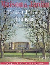 Maisons et jardins n°57 Noël 1958 Châteaux Rentilly Saint-Loup-sur-Thouët Ads