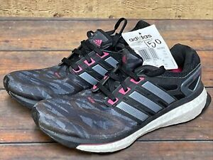 adidas Energy Boost Running Course Training Tennis Shoes Sneakers Q33962 US 5