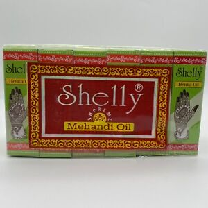 SHELLY HENNA OI/HENNA PASTE (YOU CHOOSE) PACK OF 12 or 3 FREE SHIPPING