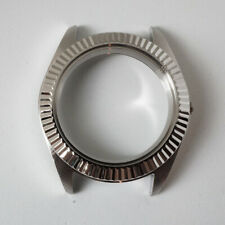 Movements Nh35 3 o'clock Mod Part Custom Fluted Steel Case for Seiko