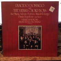 Placido Domingo & the Vienna Choir Boys -  Christmas  -  NR MINT RCA vinyl LP