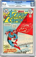 Action Comics #433  CGC 9.6  NM+  off white to white pages