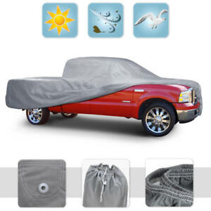 Dust Proof Pickup Truck Cover Indoor Deluxe Breathable Full-Size Regular Cab