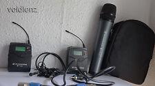 Sennheiser EW100 G2 CH70 UK Legal Microphone Sans Fil Système Avec Extras