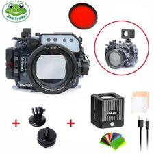 Seafrogs 60m Underwater Camera Housing for Sony RX100 I-V + Waterproof LED Light