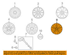 KIA OEM 10-13 Forte Wheels-Wheel Cover 529601M000