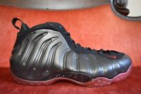 VNDS Nike Air Foamposite One Cough Drop Black/Varsity Red 314996 006 2010 11