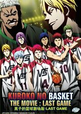DVD Japan Anime Kuroko no Basket The Movie LAST GAME English Subtitle All Region
