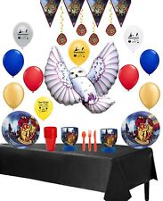 Harry Potter Party Supplies Complete Hassle-Free Kit Tableware and Balloon Kit