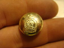 Original Vintage button: Canadian General Service button silver color