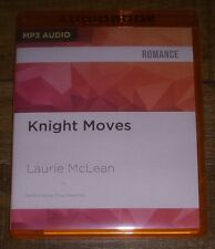 KNIGHT MOVES by Laurie McLean (2016 Audio MP3-CD) Unabridged Romance *UNUSED*