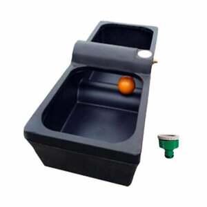 Titan 30 Gallon Water Trough/Drinker plus Plastic Tap Adaptor