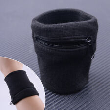 Wrist Bag Sweatband Running Jogging Cycling Sport Gym Key Pocket Arm Pouch